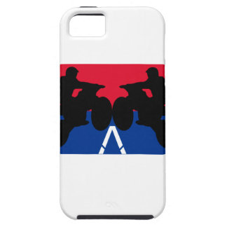 red and blue motorcycle iPhone 5 cover