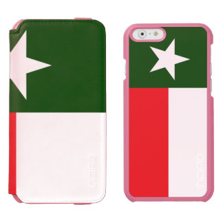 Red and Green Texas Flag Incipio Watson™ iPhone 6 Wallet Case