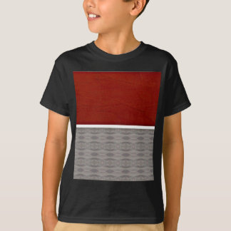 Red And Grey Graphic T-Shirt