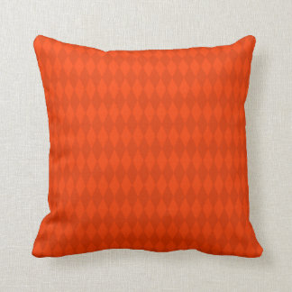 Red and Orange Diamond Design Cushion