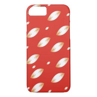 Red and orange petals case