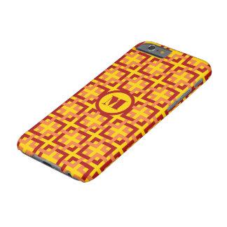 Red and Orange Squares iPhone 6 Case