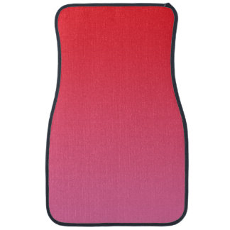 """""""Red And Pink Ombre"""" Car Mat"""