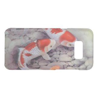 Red and White Koi Fish Pond Get Uncommon Samsung Galaxy S8 Plus Case