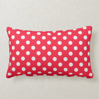 Red and White Polka Dots Pillows