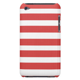 Red and White Stripe Phone Case