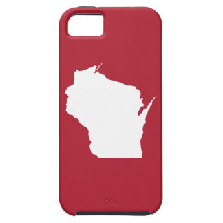 Red and White Wisconsin iPhone 5 Covers