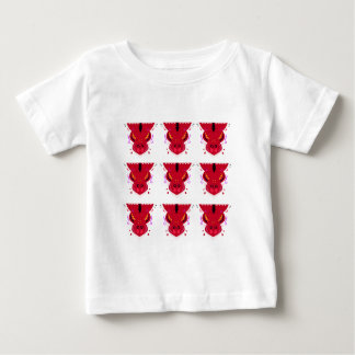RED Arabic ornaments Baby T-Shirt