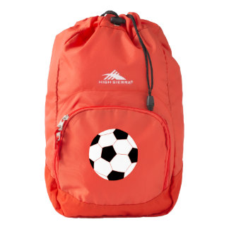Red Backpack: Soccer Backpack