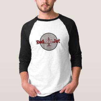 Red Ball Jet Unisex/Mens 3/4 Sleeved Raglan Tshirt