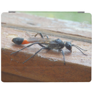 Red Banded Sand Wasp iPad Cover