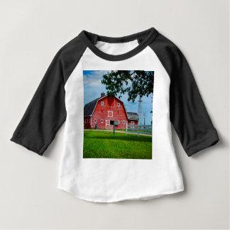 Red Barn Baby T-Shirt