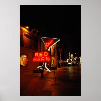 Red Barn Bar in Las Vegas Poster