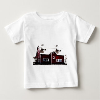 Red Barn in the Country Baby T-Shirt