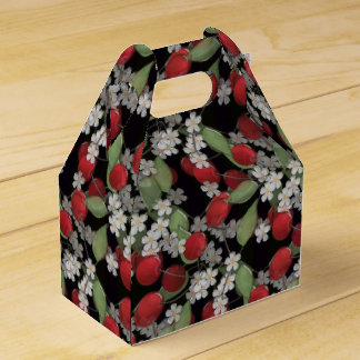 Red berries , cherry favour box