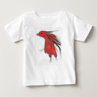 red bird feather baby T-Shirt