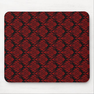 Red & Black Gothic Mouse Pad