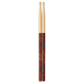 Red Blue White Abstract Drumsticks