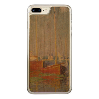 Red Boats at Argenteuil by Claude Monet Carved iPhone 8 Plus/7 Plus Case