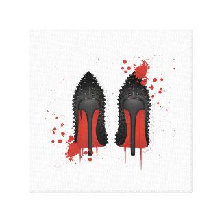 Red Stiletto Shoe Art, Posters \u0026amp; Framed Artwork | Zazzle.co.nz