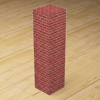 Red Brick Wine Box