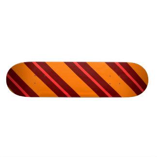Red Brown Orange Skateboard