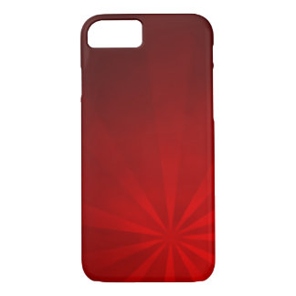 Red Burst iPhone 7 Case
