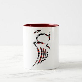 Red Camo Angel Mug