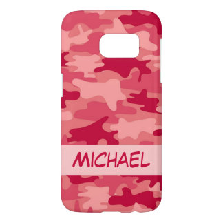 Red Camo Camouflage Name Personalized