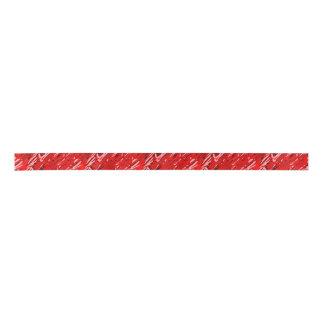 Red Camouflage Ribbon Satin Ribbon