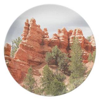 Red Canyon, Utah, USA 12 Plate