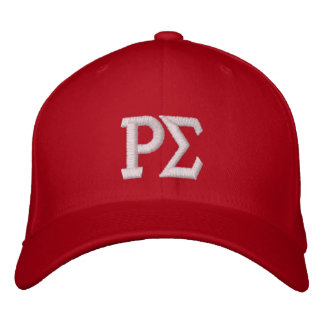 RED CAP EMBROIDERED BASEBALL CAPS
