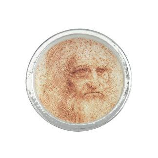 Red Chalk Leonardo da Vinci self-portrait