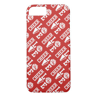 Red Cheer Love Pattern iPhone 8/7 Case