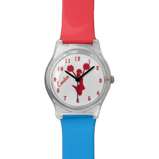 Red Cheerleader Custom Watch