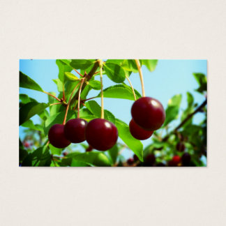 Red cherries - add your own touch