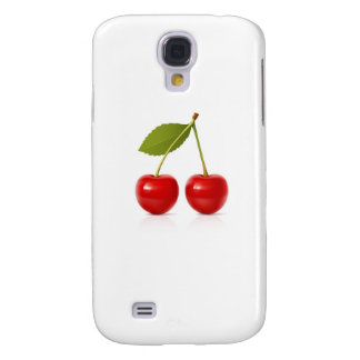 Red Cherries Galaxy S4 Covers