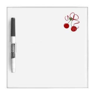 Red Cherries Dry-Erase Board