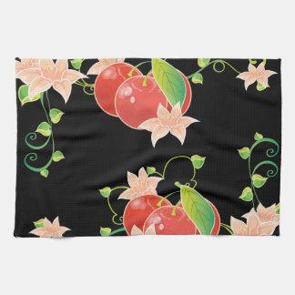 Red Cherries Tea Towel