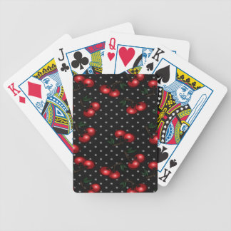 Red cherry deck of playing cards