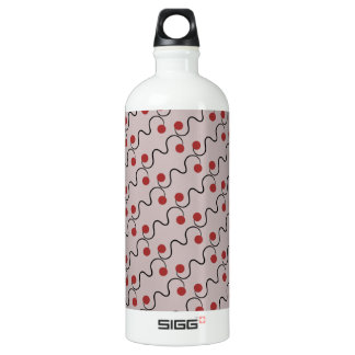 Red Cherry Pattern SIGG Traveller 1.0L Water Bottle
