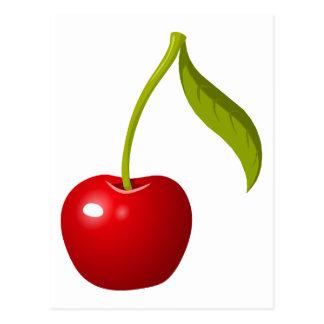 Red Cherry Postcard