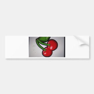 Red Cherrys Bumper Sticker