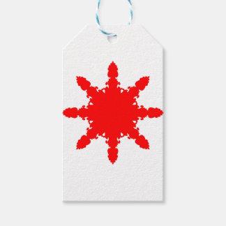 Red Circular Print