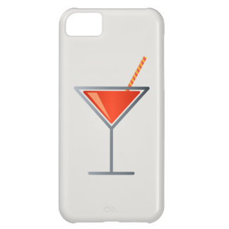 Red Cocktail Martini Glass iPhone 5C Case