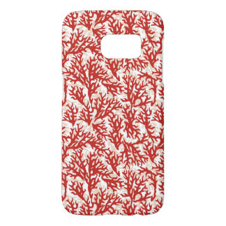 Red Coral Pattern 2