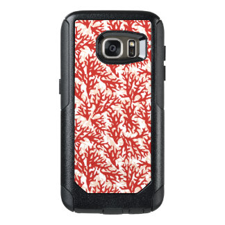 Red Coral Pattern 2 OtterBox Samsung Galaxy S7 Case