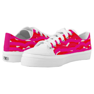 red Crayons Printed Shoes