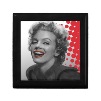 Red Dots Marilyn Gift Box