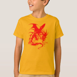 RED DRAGON KIDS TEE SHIRT